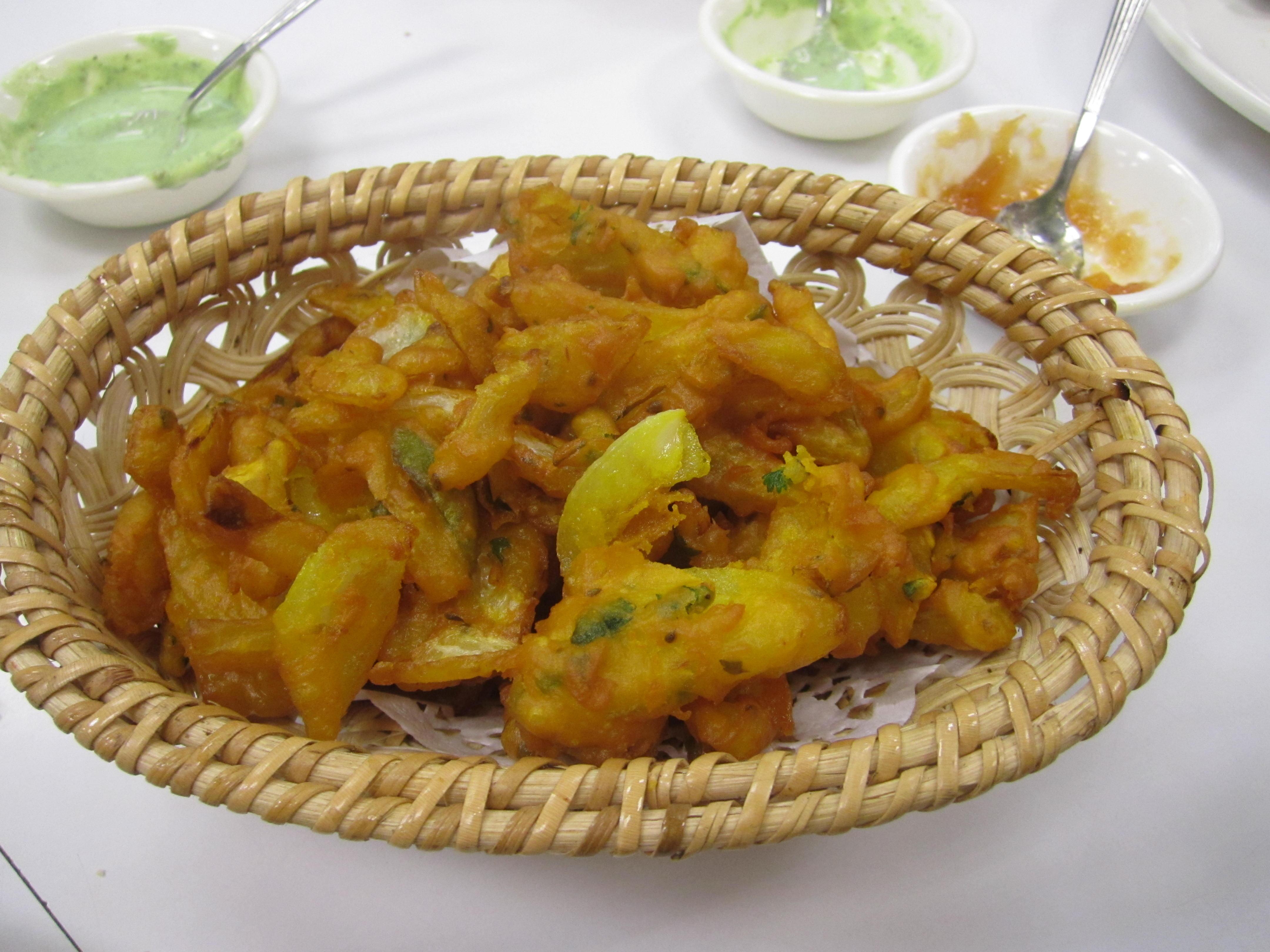 Onion Bhaji chautari restaurant