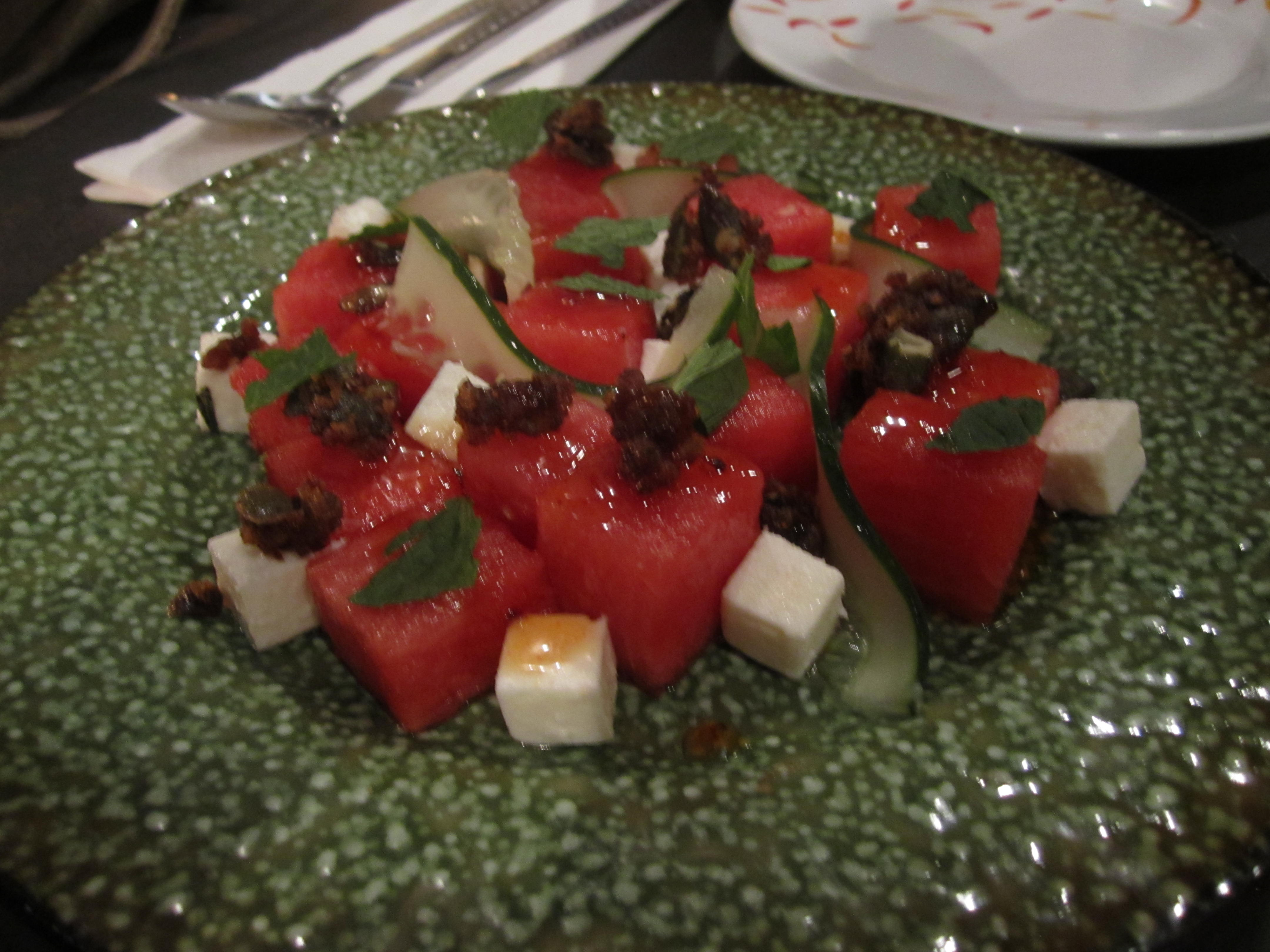 Brickhouse watermelon salad