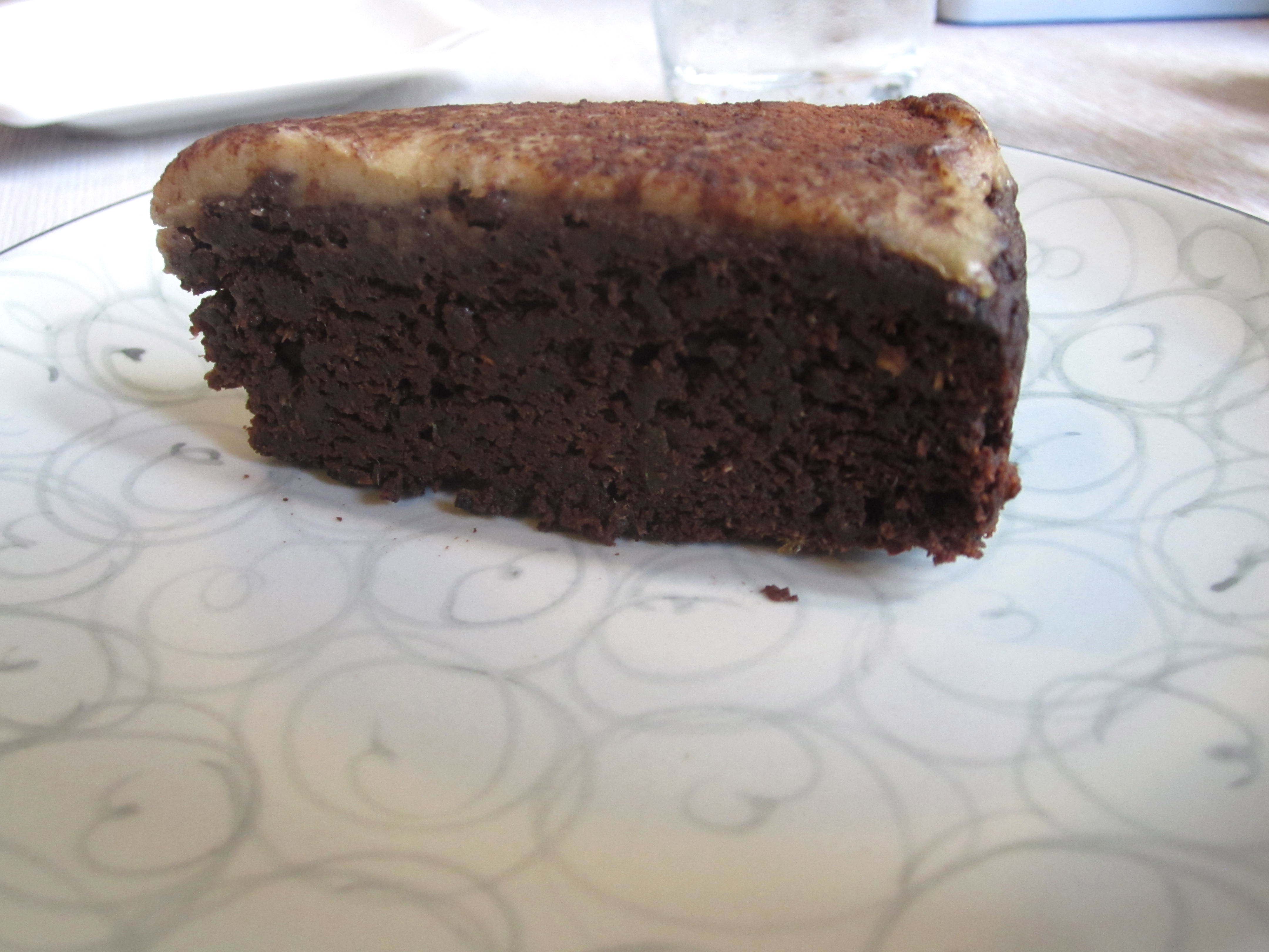 Grassroots Pantry vegan chocolate cake