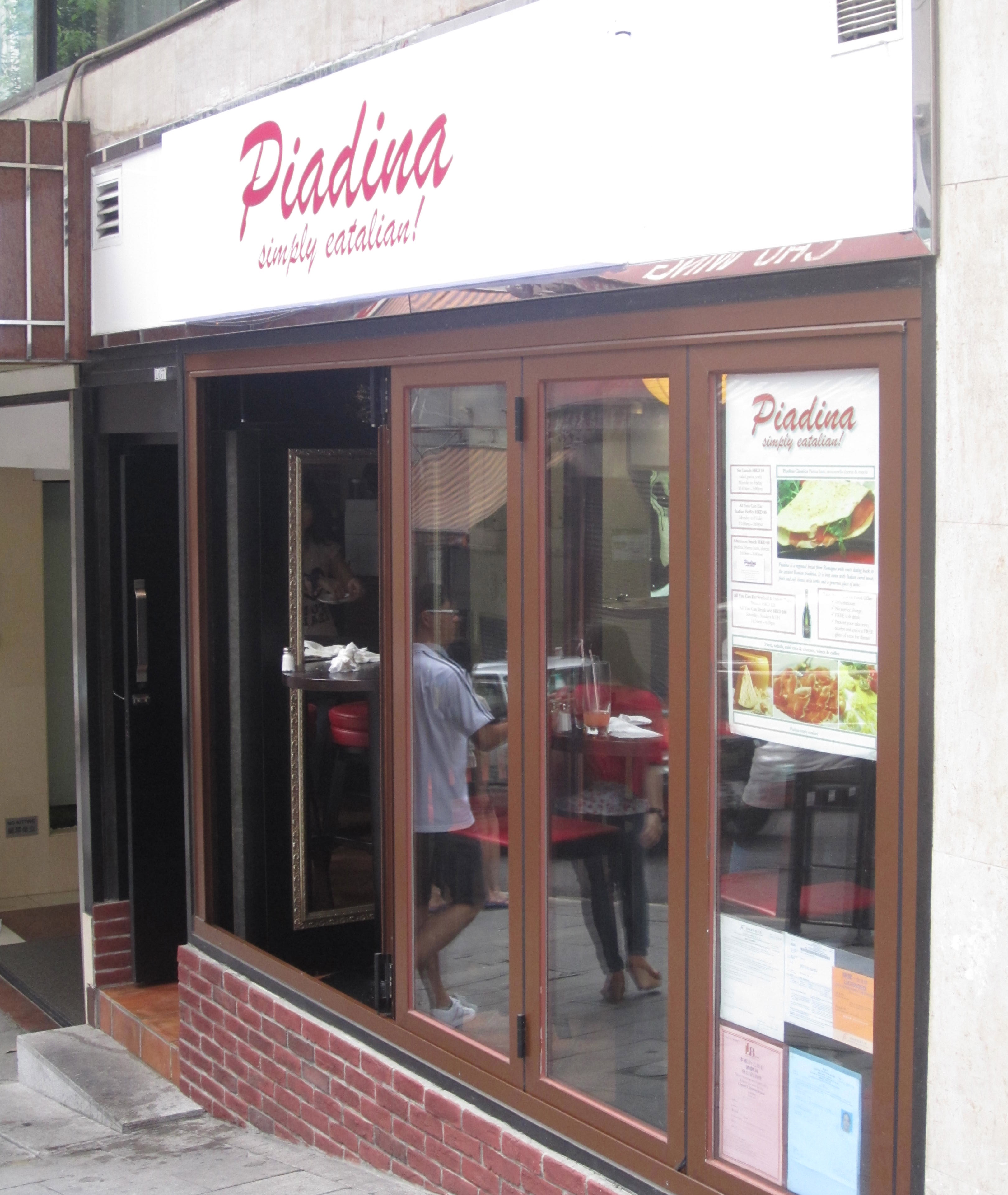 Piadina simply eatalian hong kong