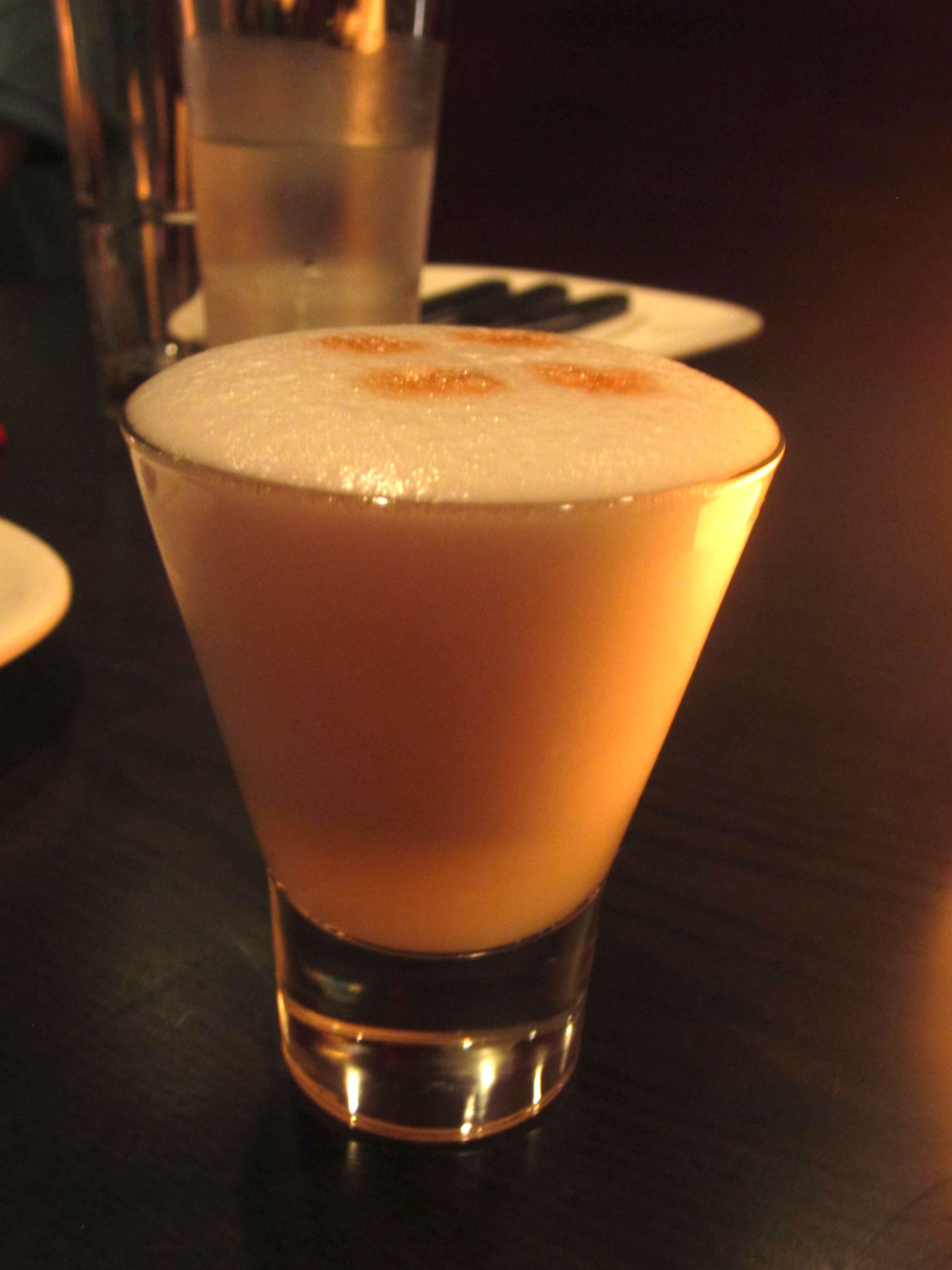 Chicha Hong Kong pisco sour