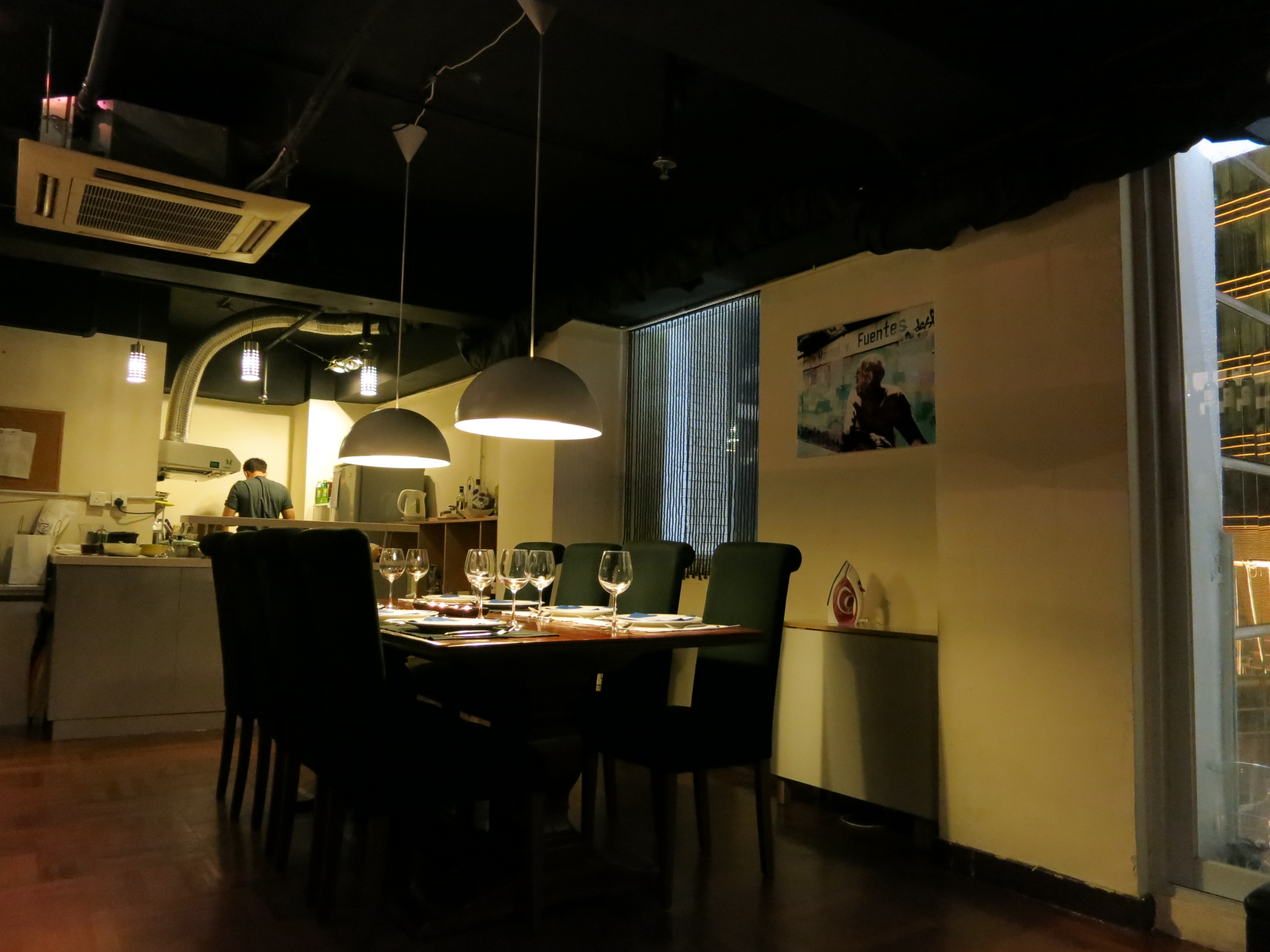 eclectic private kitchen hong kong