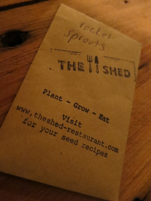 shed restaurant london